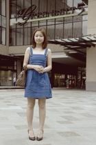 Regatta dress - Louis Vuitton purse - Nine West shoes