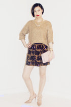 Club Monaco skirt - Club Monaco sweater