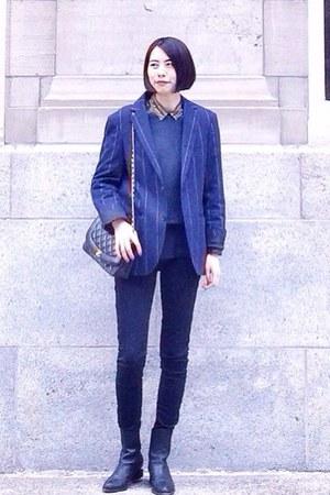 Club Monaco suit - Alexander Wang boots
