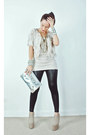 Beige-kermit-tesoro-shoes-ivory-asos-coat-black-forever-21-leggings-silver