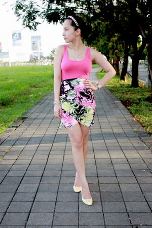 oldnavy top - Loveculturemultiplycom skirt - from Korea shoes