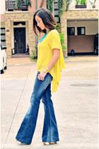 Mango pants - pinkaholic blouse