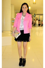 Random-from-hong-kong-blazer-ployy-top-sam-edelman-shoes-balenciaga-purse-