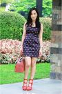Forever-21-dress-bakers-shoes-goyard-purse