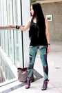 Gap-vest-joannes-leggings-gojanecom-shoes