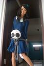 Blue-unknown-brand-dress