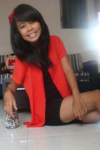 red unknown blazer