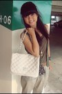 White-chanel-bag