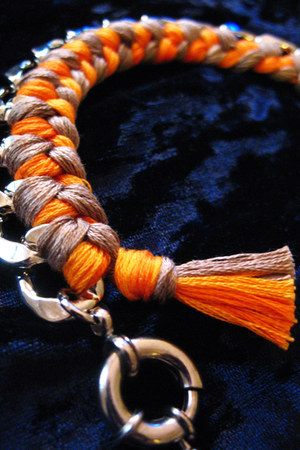 light orange CB Designs bracelet