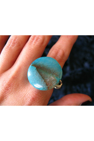 sky blue CB Designs ring