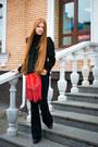 Asos-boots-zarina-jacket-fringe-mango-bag-flared-mango-pants