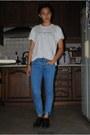 Levis-jeans-zara-t-shirt