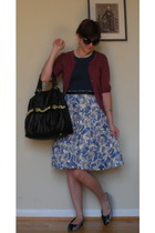 Mossimo Target sweater - skirt - shoes