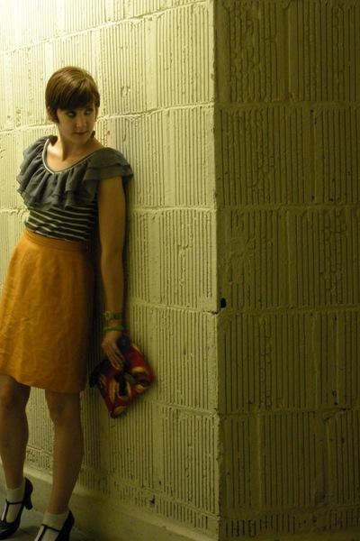 blouse - skirt - unisa shoes - purse - forever 21 accessories - littleredfox ets