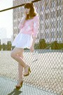 White-esley-dress-bubble-gum-white-cats-vintage-sweater