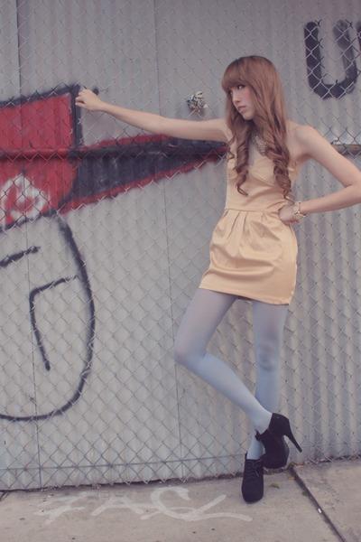 neutral ClubCouture dress