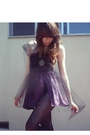 Purple-zzc-dress