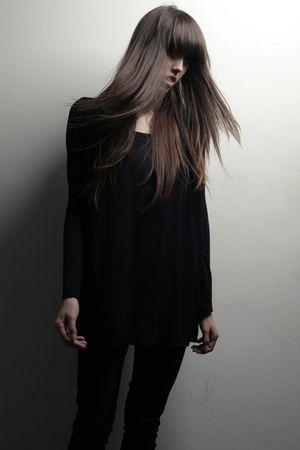 black LAMixx shirt - black Forever 21 jeans