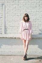 light pink thrifted dress