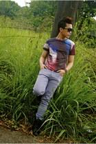deep purple culture shirt - black sm accessories sunglasses